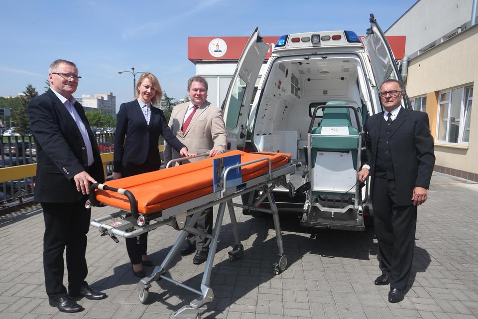 Ambulans dla Podmiotu Leczniczego COPERNICUS w Gdańsku