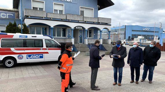 Ambulans dla Powiatowego Centrum Zdrowia w Malborku