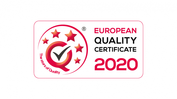 EUROPEAN QUALITY CERTIFICATE 2020